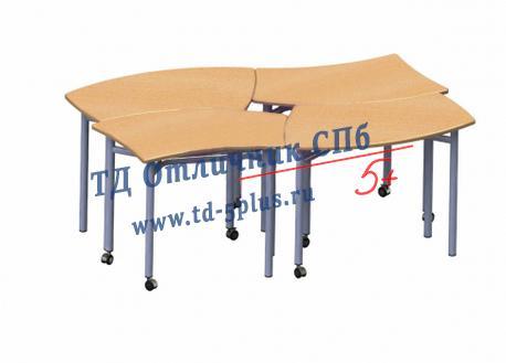 Стол ученический трансформер «ОБЛАЧКО»